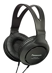 Panasonic RP-HT161E-K Monitor Headphones For iPod / MP3 player (Black)