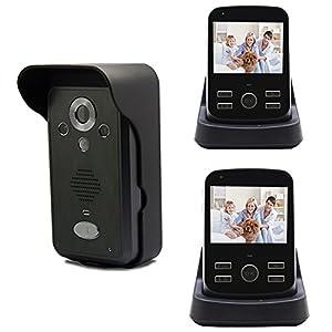 Amazon.com: Wireless Video Door Phone Doorbell IR Camera ...