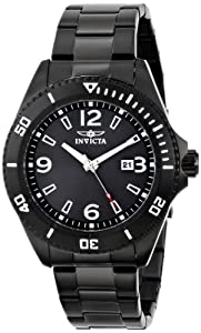 Invicta Men's 16333 PRO DIVER Analog Display Japanese Quartz Black Watch