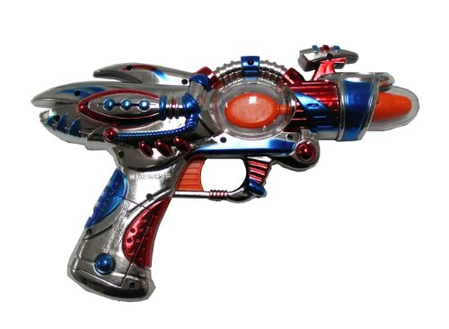 Galactic Space Blaster Gun  Lights & Sound