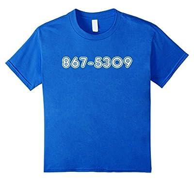 Youth Jenny 8675309 Funny Retro 80's T-Shirt