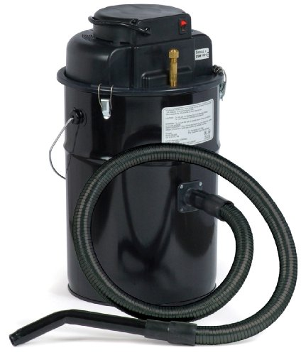 Dustless Technologies MU405 Cougar Ash Vacuum, Black