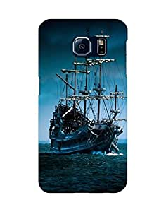 Mobifry Back case cover for Samsung Galaxy S6 SM-G920 Mobile (Printed design)