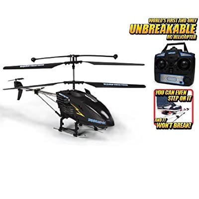 Hercules X Unbreakable 3.5CH RC Helicopter (Black)