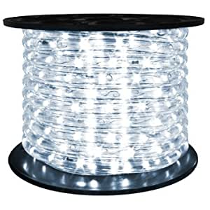 brilliant 120 volt led rope light 148 feet. Black Bedroom Furniture Sets. Home Design Ideas