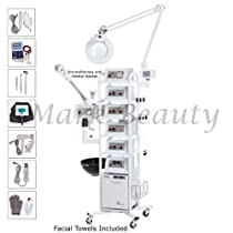 Hot Sale 15 in 1 T5 Facial Machine Equipment Aromatherapy Steamer High Frequency Beauty Salon