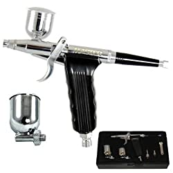 Versatile DUAL-ACTION SIDE-FEED TRIGGER AIRBRUSH-Hobby