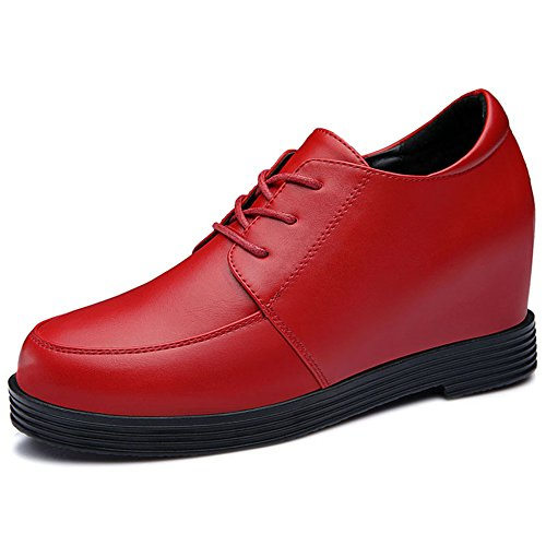 yasilaiya-womens-enticing-artificial-leather-round-mouth-oxfords-with-inner-wedge