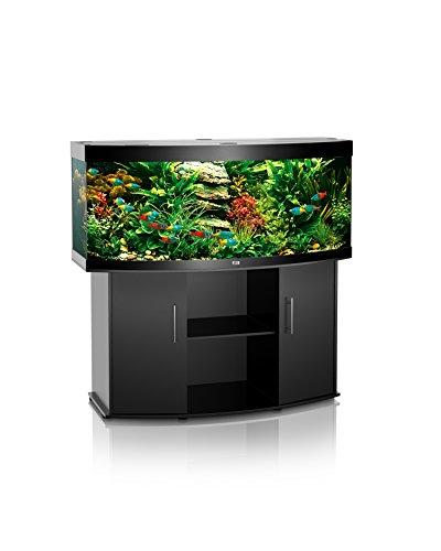Juwel vision 450 aquarium avec meuble noir for Aquarium avec meuble