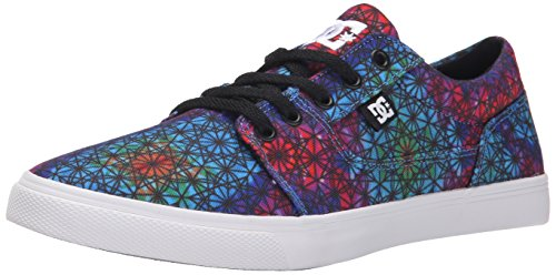 DC Women's Tonik W SP Lace Up Skate Shoe, Primary Tie Dye, 10.5 M US