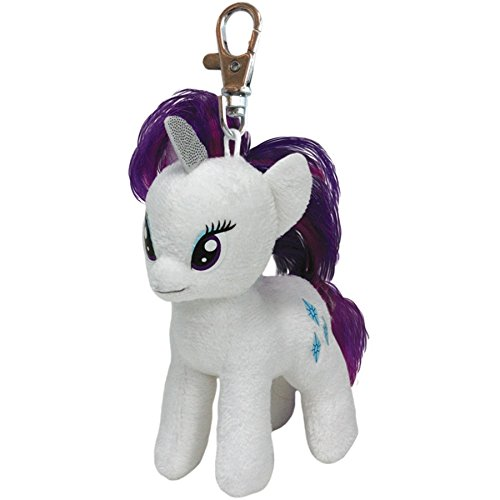Ty Beanie Babies My Little Pony Sparkle Rarity Clip Plush