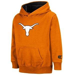 Buy Texas Longhorns Colosseum Kids Texas Orange Automatic Hooded Sweatshirt by Colosseum