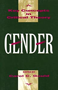 "Cover of ""Gender (Key Concepts in Critica..."