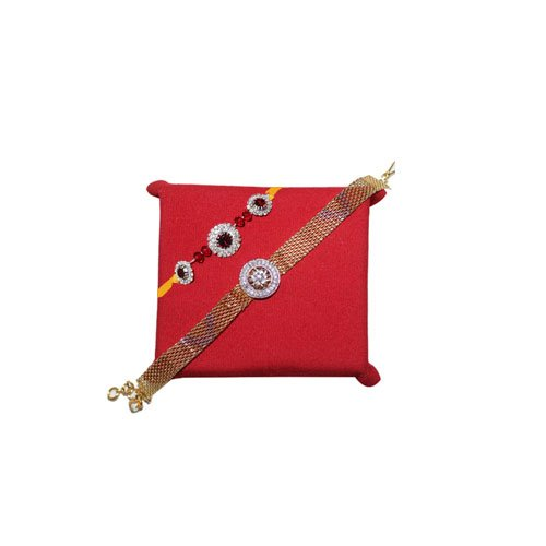 mandala-creations-2-elegant-rakhi-set-with-haldirams-soan-papdi-combo-set