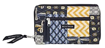 Bella Taylor American Charm Quilted Wrist Strap Wallet