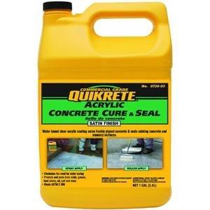 Quikrete Acrylic Concrete Cure & Seal, 1 Gallon, Satin Finish (Concrete Sealer Clear compare prices)