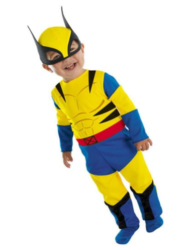 Baby-boys - Wolverine Toddler Costume 12-18 Mths Halloween Costume