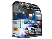 Hipro Power H7 Super White 100watt Xenon Hid Headlight Bulbs - Low Beam from Hipro Power