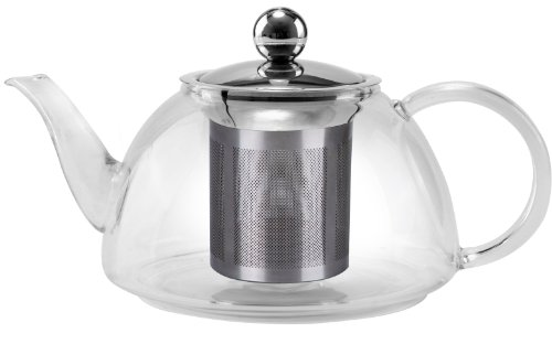 Uniware premium quality Stove safe Glass kettle , 800 ml (All Glass Kettle compare prices)