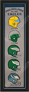Heritage Banner Of Philadelphia Eagles-Framed Awesome & Beautiful-Must For A... by Art and More, Davenport, IA