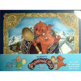 Cheap Barnes & Noble Gingerbread Baby Jumbo Floor Puzzle – Design by Jan Brett (1615563725)