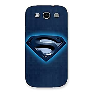 Radiant Super Blue Back Case Cover for Galaxy S3 Neo