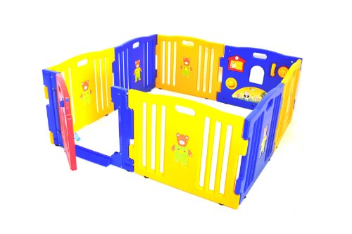 Best Baby Play Yard Reviews: Choosing the best play yard piece for your baby requires attention to safety, play space, strength, portability and solidness.