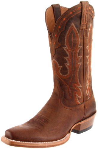 Ariat Men's Hotwire Western Cowboy Boot, Weathered Brown, 7.