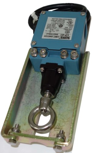 SUNS CP-61 Prewired Anti-Two Block Crane Cable Pull Safety Switch 1NO/1NC