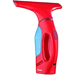 Vileda Windomatic - Aspiradora limpiacristales con cuello flexible