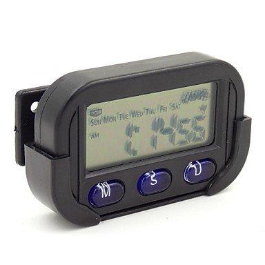 Zcl Simple Style Calendar Chronometer Alarm Clock For Car Home Office