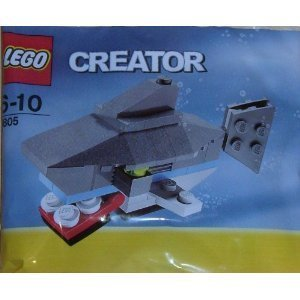 Lego Creator Shark #7805 Ages 6-10 back-868035
