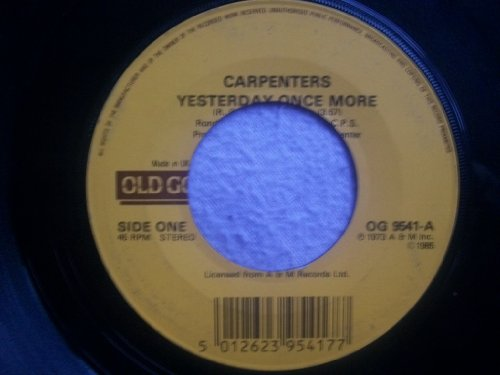 The Carpenters - The Carpenters Yesterday Once - Zortam Music