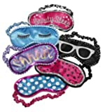 Three Cheers for Girls Sleep Mask Assorted Designs (1 Mask)