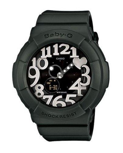 Casio BGA-134-3BHDR (BX010) BX010 (BX010) - Reloj para mujeres, correa de resina color verde