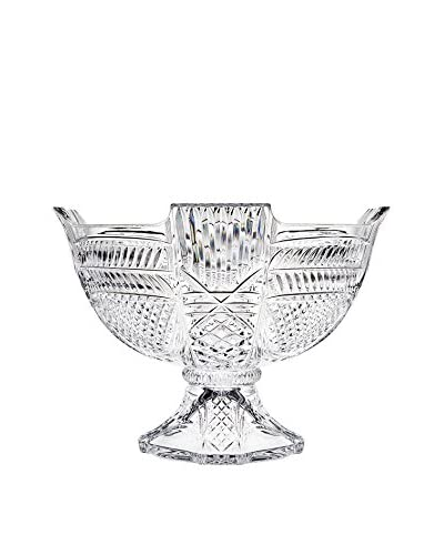 Godinger Crystal Lexington Footed Centerpiece Bowl