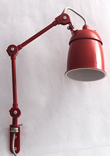 playn contemporary red wall lamp (how mini series)
