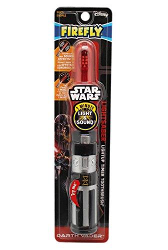 Firefly Star Wars Darth Vader Lightsaber Light-Up Timer Toothbrush