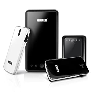 Anker® Astro Family Holiday Gift Pack 4 External Batteries for iPhone, iPad, Android Phones; 1 Astro3E Black 10000mAh + 1 Astro2 Black 8400mAh + 1 Astro Slim White 3200mAh + 1 Astro Slim Black 3200mAh [Keep the Whole Family Powered Up]
