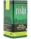 Rishi Tea Matcha Super Green, 1.76 Ounce