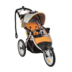 Jeep Overland Limited Jogging Stroller with Front Fixed Wheel, Fierce by Jeep