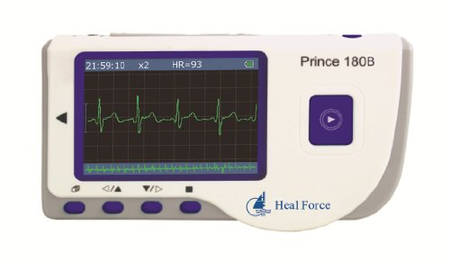 Prince 180BC Colour Handheld ECG Monitor + Software + PC Link