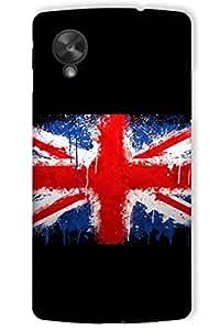 IndiaRangDe Hard Back Cover FOR Google LG Nexus 5