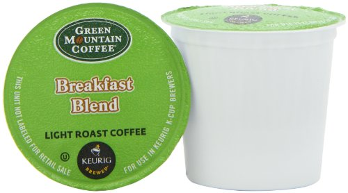 Green Mountain Coffee, Breakfast Blend K-Cup Portion Pack for Keurig Brewers, 50-count