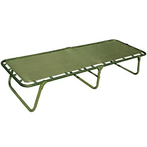Folding Camp  on Highlander Balmore Folding Camp Camping Bed Extra Wide  Amazon Co Uk