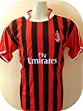 AC MILAN -ITALY- SOCCER JERSEY SIZE LARGE .NEW.STOCK LIQUIDATION.