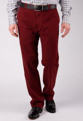 Brook Taverner Cumbria Trouser in Berry 40S