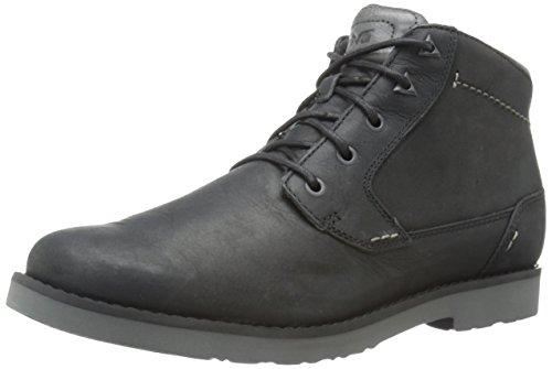 Teva Durban-Leather, Stivaletti Uomo, Nero (Black-Blkblack-Blk), 45.5 EU