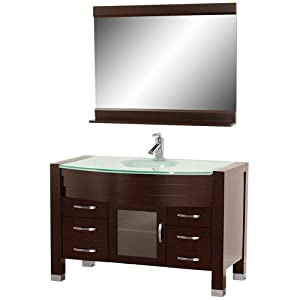 Daytona 55 Inch Bathroom Vanity With Mirror