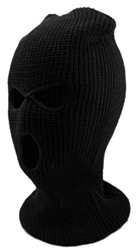 Enimay Three Hole Ski Snowboard Mask Winter Beanie Balaclavas Black (Ski Mask 3 Hole compare prices)
